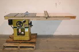 matic 66 10 5hp table saw w 50 biesemeyer fence the