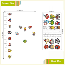 3d Cartoon Movie Avengers Height Measure Chart Wall Stickers For Kids Rooms Decals Art For Nursery Home Decoration Poster