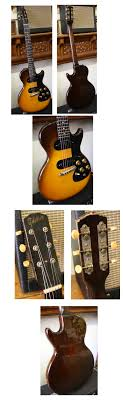 lark street music vintage guitars teaneck nj 2000 gibson melody maker 1961 sunburst small peghead crack repaired single cutaway 2 pickups vgc ossc