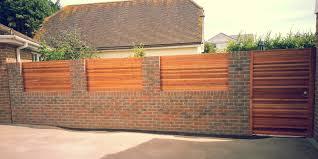 Small Picture Front Garden Brick Wall Designs Captivating Interior Design Ideas