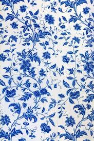 Blue Pattern Wallpaper Inspiration Blue Floral Pattern On The Wallpaper Stock Photo Colourbox
