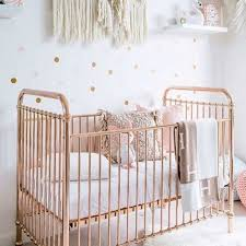 home nursery furniture cots and cotbeds ellie cot by incy interiors rose gold