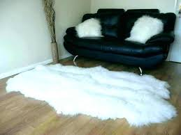 ikea black fur rug black fur rug fake fur rug faux fur rug simple living room with white sheepskin black faux fur rug ikea