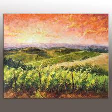 oil painting italian tuscany vineyard landscape painting throughout vineyard wall art photo 20 of 20 on tuscan vineyard wall art with wall art ideas vineyard wall art explore 20 of 20 photos