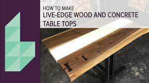 concrete and wood furniture. How To Make A Concrete And Wood Table Top Furniture