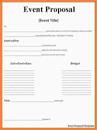 Event Proposal Template Doc Filename – Msdoti69