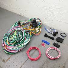 1960 1965 ford falcon 8 circuit wire harness fits painless fuse 1960 1965 ford falcon wire harness upgrade kit fits painless fuse block new