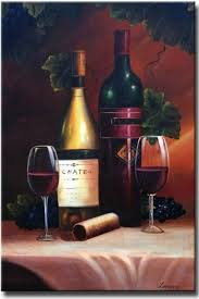 bottle for the table on large wine bottle wall art with large wine canvas wall art for sale