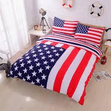 american flag duvet cover set