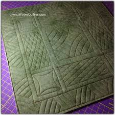 154 best Westalee quilting rulers images on Pinterest   Quilt ... & Ruler Work with Dena Wlkins of Living Water Quilter Adamdwight.com