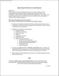 Athletic Resume Template Free Activities Resume Template] 100 images best photos of resume 98