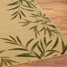 area rugs allstar beige ivory indoor outdoor with palm tree