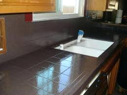 painting tile countertops painting kitchen to update your kitchen the new way home decor painting tile