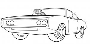 Small Picture How to Draw The Fast and Furious 1970 Dodge Charger Step by Step