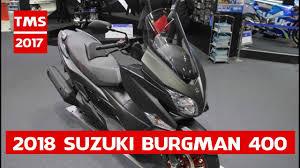 2018 suzuki 400. wonderful 400 all new 2018 suzuki burgman 400  at 2017 tokyo motor  show on suzuki