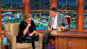 carrie fisher 2014. Beautiful Carrie Craig Ferguson 2014 12 08 Carrie Fisher Full Episodes 2015 New HD To M