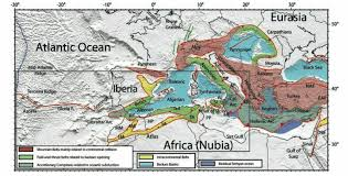 Nubian Plate, North West Region - African/Arabian Tectonic Plates