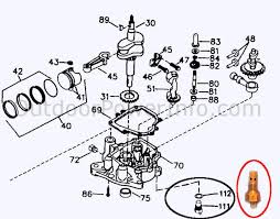 descriptions photos and diagrams of low oil shutdown systems on tecumseh low oil sensor 611189 diagram
