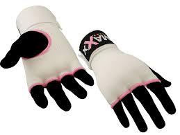 Hand Wrap Gloves Gel Padded White Inner Gloves Hand Wrap Boxing Bag Mma Ufc Carbon