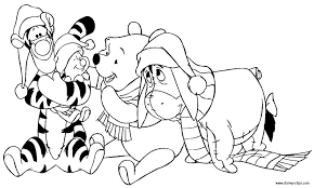 Small Picture Disney Christmas Coloring Pages Coloring Pages
