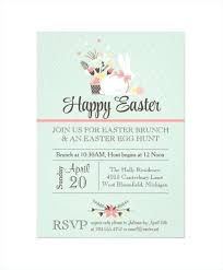 Easter Invitations Template Musacreative Co