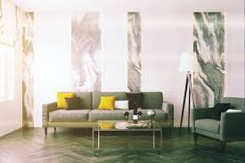 Wooden Living Room Awesome White And Gray Wall Living Room With A Wooden Floor A Gray Sofa
