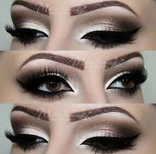 neutral eye makeup smokey eye