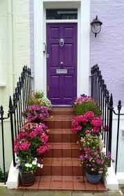 front door color trends 2014. slim purple door with wall front color trends 2014 o