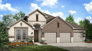 Wentworth Floor Plan At Crystal Falls The Plateau In Leander TX Impressive Painting Exterior House Creative Plans