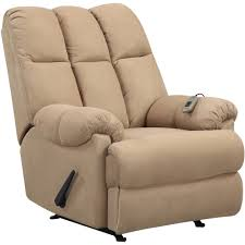 Dorel Living Padded Massage Rocker Recliner Multiple Colors