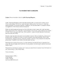 Resume Sample Reference Letter For Nanny Bestollectionhildare