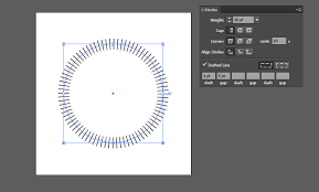 Here's a quick way to create a dotted line in illustrator. How Do I Draw Dashed Vertical Lines On A Path In Illustrator Graphic Design Stack Exchange