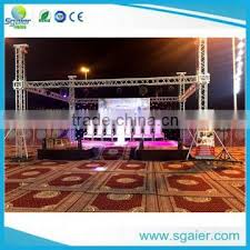 diy portable stage small stage lighting truss. Sgaier Factory Cheap Price 2 Legs Small Stage Backdrop Truss LED Screen Display Diy Portable Lighting