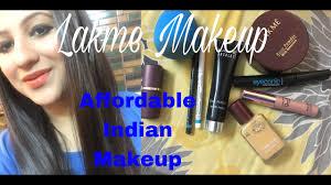 lakme makeup tutorial everyday glam makeup tutorial for indian skin