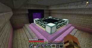 Sea Lanterns Look Nice With End Portal Frames Minecraft