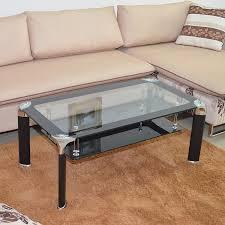 modern ikea glass coffee table