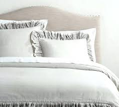 white ruffle comforter twin xl