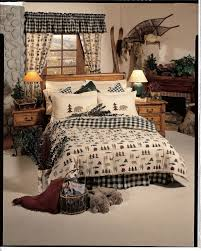 Lodge Style Bedroom Furniture Total Fab Rustic Lodge Log Cabin Themed Bedding Sets