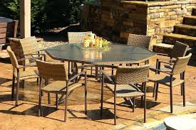 inspirational resin wicker patio dining set and wicker great rattan outdoor dining chairs best ideas about