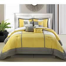 desiree furniture. Chic Home Desiree 12-Piece Yellow Bed In A Bag Comforter Set Furniture
