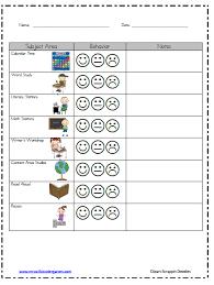 Kindergarten Classroom Behavior Chart Classroom Behavior Mrs Wills Kindergarten