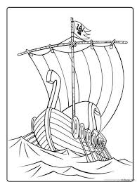 Wicky The Viking Coloring Pages 39 Viking Viking Longboat