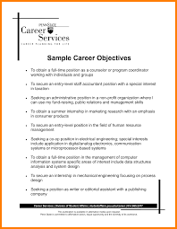 Examples Of Career Objectives 24 example of career objectives gcsemaths revision 1