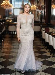 Iskra Lawrence Shows Off Her Curves In New Bridal Campaign
