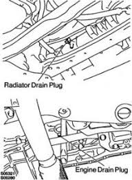 2000 toyota avalon thermostat repair replacement engine cooling position a suitable drain pan under the radiator drain cock and drain the cooling system on the 1mz fe engine you have to remove the air cleaner cap