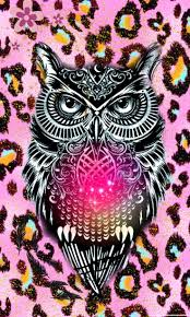 Animal print owl cute hispter by me