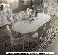 italian high gloss furniture. Rossella Italian Dining Table And 6 Chairs In High Gloss With Gold Design Italian High Gloss Furniture