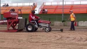 massey ferguson 12 garden tractor pulling