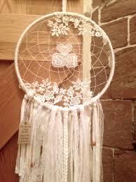 Unusual Dream Catchers Wedding Dream Catcher Boho unusual gift White by SunflowerDreamers 10