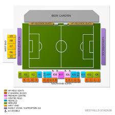 Westhills Stadium Seating Chart Westhills Stadium 2019 Seating Chart